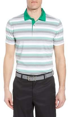 Bobby Jones Tech Baylor Stripe Jersey Polo