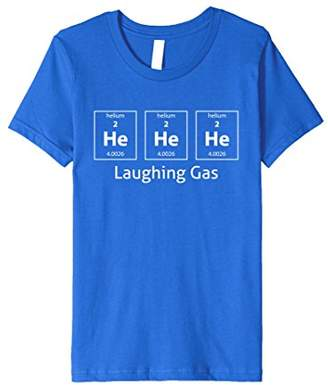 He He He Laughing Gas Periodic Table Helium Funny T-Shirt