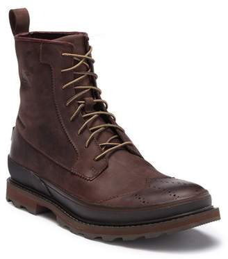 Sorel Madson Waterproof Leather Wingtip Chelsea Boot