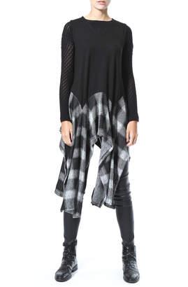 Co Madonna & Asymmetrical Tunic Vest