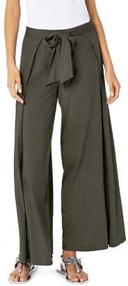 Michael Stars Tie-Front Wide-Leg Pants