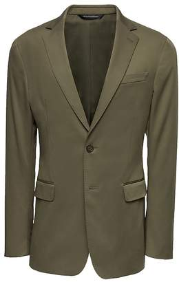 Banana Republic Slim Rapid Movement Suit Jacket