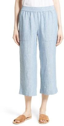 Women's Joie Azelie Linen Crop Pants $188 thestylecure.com