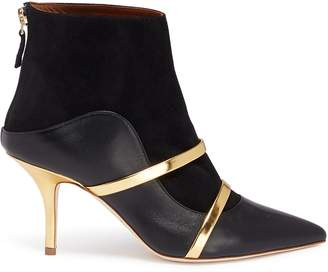 Malone Souliers 'Madison' strappy leather and suede ankle boots