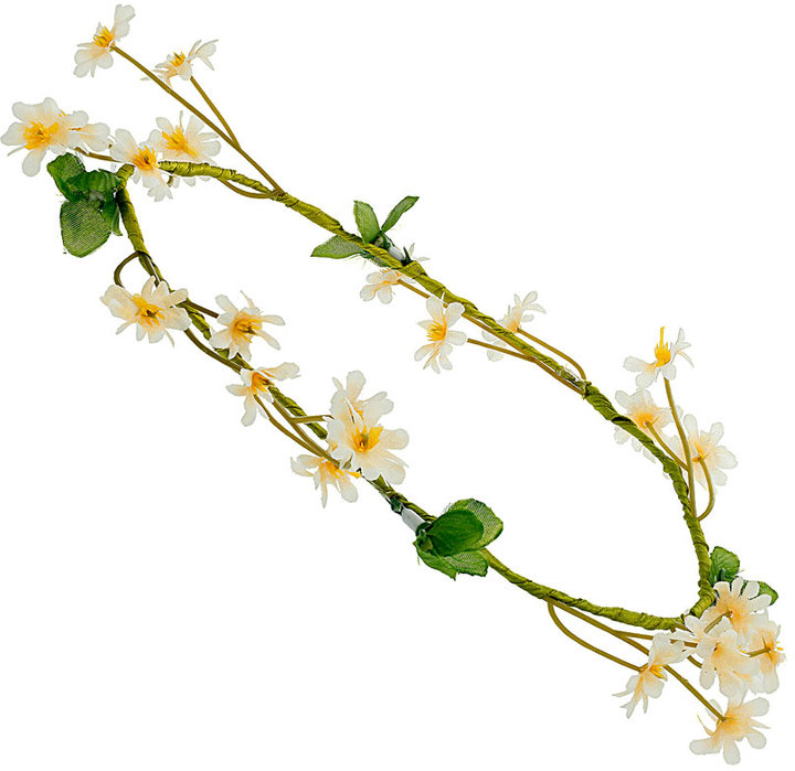 Daisy garland headband