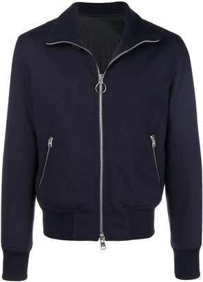 Ami Alexandre Mattiussi Funnel Neck Zipped Jacket