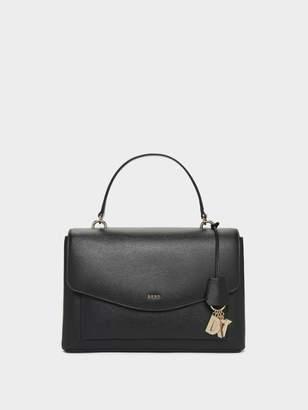 DKNY Lex Leather Satchel