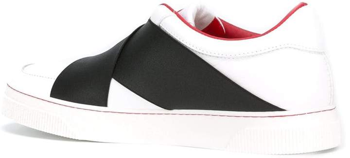 Proenza Schouler cross panel sneakers