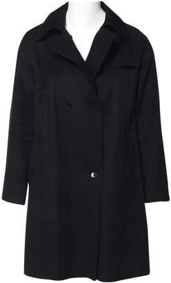 Les Prairies de Paris Black Cotton Coats