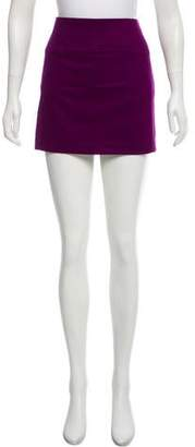 Diane von Furstenberg Wool-Blend Mini Skirt