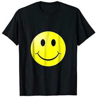 Smile and Be Happy Smiley Face T-shirt