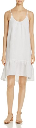 Lilla P Sleeveless Ruffle Hem Dress $178 thestylecure.com