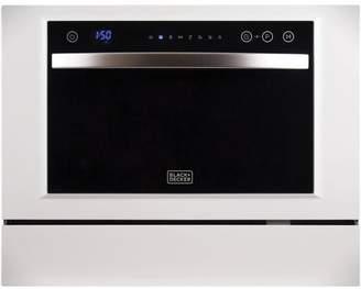 "Black & Decker Black + Decker Fully Integrated 25"" Countertop Dishwasher"