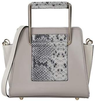 7262676c3 Grey Leather Cross Body Bag - ShopStyle UK