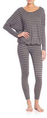 Ticking Stripes Slouchy Tee $74 thestylecure.com