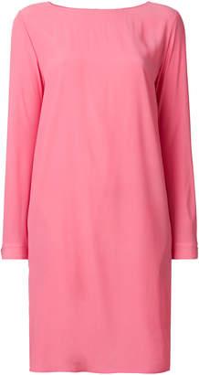 Love Moschino sleeve slit shift dress