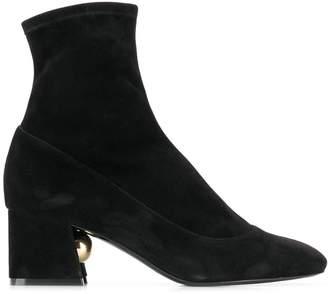 Nicholas Kirkwood Miri stretch ankle boots