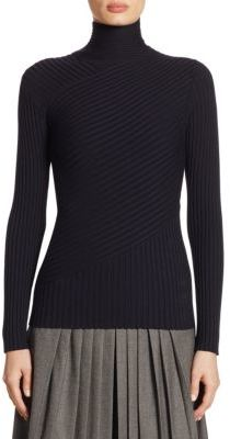 Ralph Lauren Collection Ribbed Wool Pullover