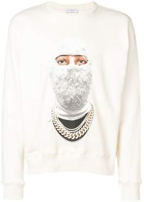 Ih Nom Uh Nit front face printed sweatshirt