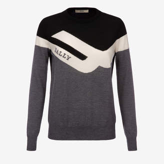 Bally COMPETITION CREW NECK JUMPER