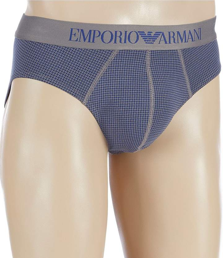 Emporio Armani Dotted Pattern Mix Briefs