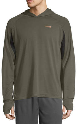 COPPER FIT Copper Fit Long Sleeve Mesh Logo Hoodie