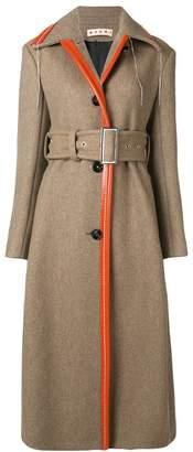 Marni hanging thread detail coat