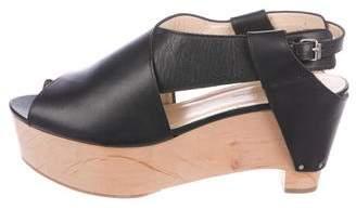 3.1 Phillip Lim Leather Platform Sandals