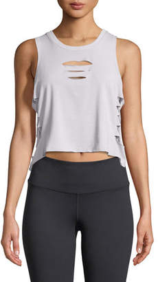 Alo Yoga Cut-It-Out Cropped Tank