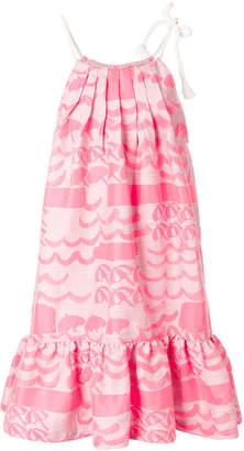 Tsumori Chisato printed balloon dress