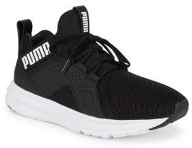 Puma Mesh Lace-Up Sneakers