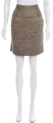 Lanvin Metallic-Accented Mini Skirt