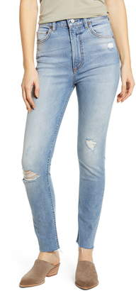 Boyish Jeans The Zachary Super High Waist Ankle Skinny Jeans