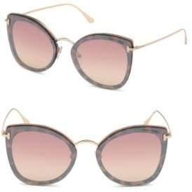 Tom Ford Charlotte 62MM Cat Eye Sunglasses