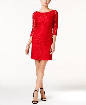 Ivanka Trump Lace Sheath Dress $128 thestylecure.com