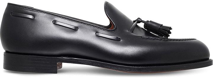 Crockett JonesCrockett & Jones Cavendish leather loafers