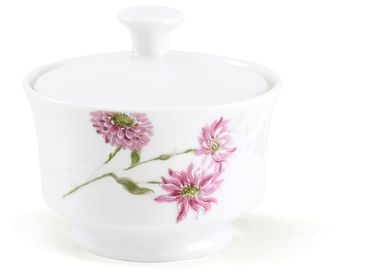 Pink Sugar Silk Floral Bowl