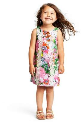 Lilly Pulitzer for Target Toddler Girls' Nosey Posie Sleeveless Round Neck Shift Dress