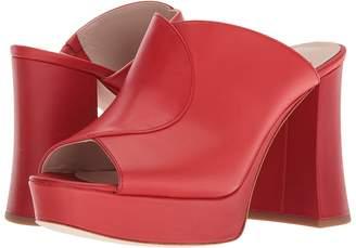 Nine West Lisana 40th Anniversary Platform Slide Heel Women's Sandals