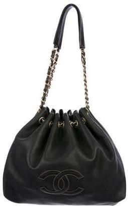 Chanel Lambskin CC Bucket Bag