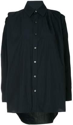 Facetasm structured shoulders shirt