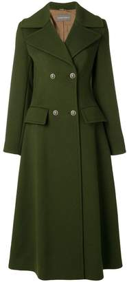 Alberta Ferretti double breasted long coat