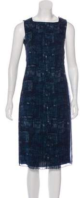 Akris Silk Geometric Dress