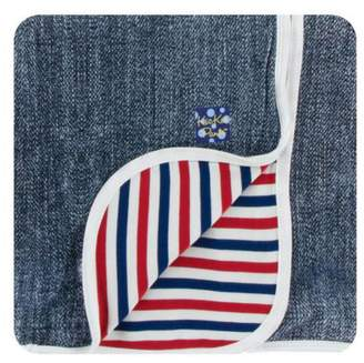 Kickee Pants Denim Toddler-Blanket