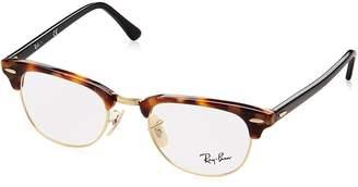 Ray-Ban Clubmaster No Polarization Square Prescription Eyewear Frame