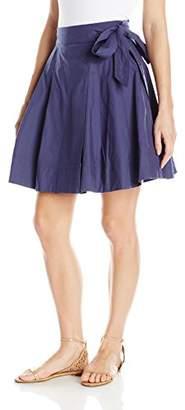 Soprano Juniors Women's Poplin Side Tie Skirt