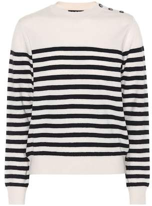 A.P.C. Petra striped wool sweater