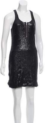 Yigal Azrouel Cut25 by Sequined Mini Dress w/ Tags