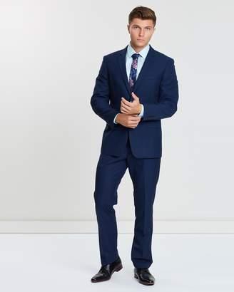 TAROCASH President Check Two-Button Suit