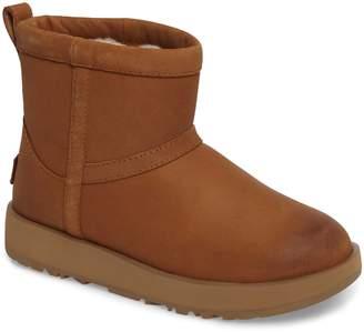 UGG Classic Mini Genuine Shearling Lined Waterproof Boot